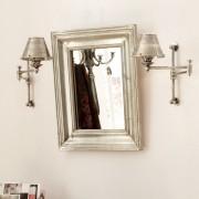 LOBERON Spiegel Sarcelles / zilverkleurig