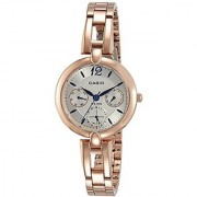 Casio Enticer Analog Silver Dial Womens Watch-LTP-E401PG-7AVDF (A1290)