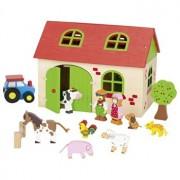 Set figurine lemn - Ferma mea