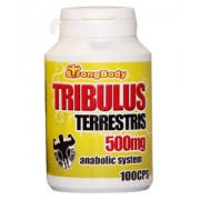 Tribulus Terrestris 500mg StrogBody 100cps 1+1 balení A1 Solution