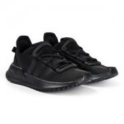 adidas Originals Path Run Sneakers Svart Barnskor 33 (UK 1)