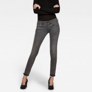 G-star RAW Femmes Midge Cody Mid Waist Skinny Jeans Gris