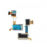 SIM / Micro Sd Memory Card Reader Slot Flex Cable For Sony Xperia M2 D2306 D2302