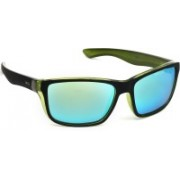 INVU Rectangular Sunglasses(Blue)