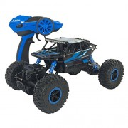HALO NATION® Rock Crawler 1:18 - Mighty Monster Truck - King of Mountains with Remote Controlled 4 Wheel Drive - 1:18 Scale (Spiderman)