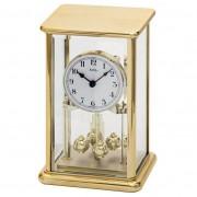 AMS 1211 Tafelklok-Jaarklok goudkleurig 23 cm hoog