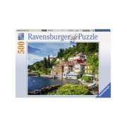 Puzzle Lacul Como Italia, 500 Piese Ravensburger