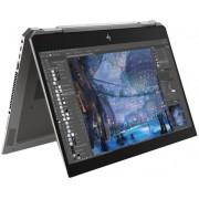 "Laptop 2in1 HP ZBook x360 Studio G5 (Procesor Intel® Core™ i7-8750H (9M Cache, up to 4.10 GHz), Coffee Lake, 15.6"" FHD, Touch, 8GB, 256GB SSD, Intel® UHD Graphics 630, FPR, Win10 Pro, Argintiu)"