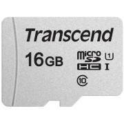 Card de memorie Transcend USD300S, microSDHC, 16 GB, 95 MB/s Citire, 45 MB/s Scriere, Clasa 10 UHS-I U1 + Adaptor SD