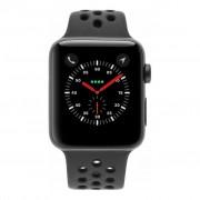 Apple Watch Series 3 Nike - caja de aluminio en gris 42mm - correa deportiva antracita/negra (GPS+Cellular) refurbished