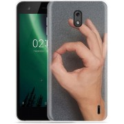 Nokia 2 Hoesje Circle Hand Game