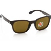 Ray-Ban Wayfarer Sunglasses(Brown)