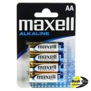 Maxell alkalna baterija AA blister LR6