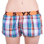 Styx Dámské trenky Styx sportovní guma vícebarevné (T622) XL