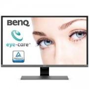 Монитор BenQ EW3270UE, 31.5 инча VA, 4ms, 3840x2160 4K UHD, FreeSync, HDR, Flicker-free, TUV, USB Type-C, Metallic Grey, 9H.LGVLA.FSE
