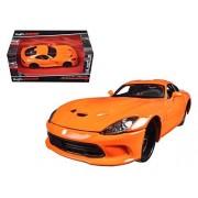 Maisto 31363 2013 Dodge Viper GTS SRT Orange Modern Muscle 1/24 Diecast Model Car