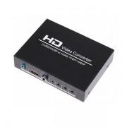 HDV-8A Skaler AV CVBS na HDMI + audio