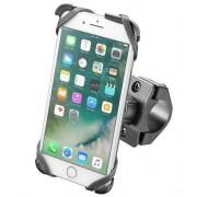 Suport moto Interphone pentru Apple iPhone 7 Plus, iPhone 8 Plus (Negru)