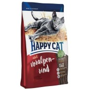 Hrana uscata pisici - Happy Cat Supreme - Adult Voralpen-Rind - 4 kg