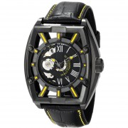 Stuhrling Original Mens 279335565 Xtreme Millennia Expo Analog Display Automatic Self Wind Black Watch