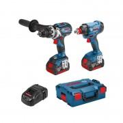 Bosch perc viss gsr18v-85c + boulonneuse gdx18v-180 - 0615990l4h