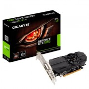 Видео карта gigabyte geforce gtx 1050 oc low profile 2gb gddr5 128 bit, dvi-d, displayport, hdmi, ga-vc-n1050oc-2gl