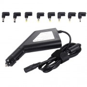 Laptop Notebook Power 90W Universal Car Charger with 8 Power Adapters & 1 USB Port for Samsung Sony Asus Acer IBM HP Lenovo (Black)