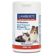 Lamberts Omega 3 voor dieren hond en kat 120ca