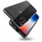 Para IPhone X PC Volver Funda Protectora Transparente (transparent)