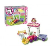 SET CONSTRUCTIE UNICO PLUS HELLO KITTY MINI FERMA - ANDRONI GIOCATTOLI (UN8658)