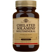 Solgar Chelated Solamins Multimineral Tablets 90 st