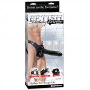 FF Extreme Hollow 12in Strap-on Black
