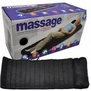 Soft Velvet Vibrating Massage Bed Remote Controlled Full Body Massaging Mat Massager Mattress For Relaxation Massage