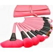 Set 24 pensule roz make-up