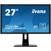 """Monitor IPS, IIYAMA 27"""", ProLite XB2788QS-B1, 4ms, 5Mln:1, Flickerfree, DVI/HDMI/DP, Speakers, 2560x1440"""