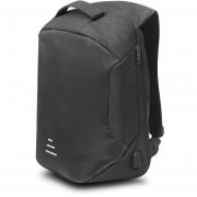 BackPack de seguridad porta Laptop Mc.Carthy MOD. MC19-1 Negro
