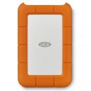 """HDD External 2.5"""" Rugged USB-C 4TB Silver/Orange"""