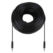 Eboxer 3.5mm Macho a Macho Cable de Audio de Cobre de Blindado para los Auriculares,10m /15m/ 20m /30m(30m)