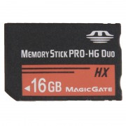 16GB Memory Stick Pro Duo HX Memory Card - 30MB PER Second High Speed for Use with PlayStation Portable (100% Real Capacity)