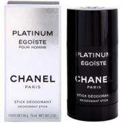 Chanel Égoïste Platinum desodorante en barra para hombre 75 ml
