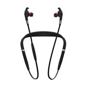 Jabra EVOLVE 75e Wireless Earbud, Behind-the-neck Stereo Earset