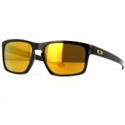 Lentes Oakley Sliver Polished Black - 24k Iridium OO9262-05