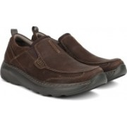 Clarks Charton Step Brown Nubuck Boat Shoes For Men(Brown)
