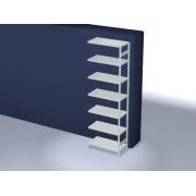 Discountoffice Systeemstelling Aanbouwveld HxBxD 3000x1010x535mm Vakl. 330kg