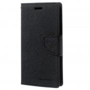 Bolsa tipo Carteira Mercury Goospery Fancy Diary para Samsung Galaxy J3 - Preto