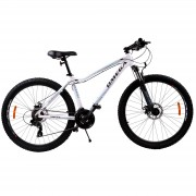 Bicicleta mountainbike dama Omega Camille 24.5 cadru 44cm alb 2019