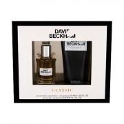 David Beckham Classic confezione regalo Eau de Toilette 40 ml + doccia gel 200 ml uomo