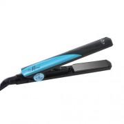 Placa de par Profesionala PLA Mini, 25W, placi ceramice 16mm, negru/albastru