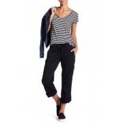 SUPPLIES BY UNION BAY Lilah Rolled Cargo Pants BLACK