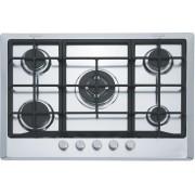 Plita incorporabila Franke Multi Cooking 700 FHM 705 4G TC XS C , 5 arzatoare gaz, 70 cm, Fonta, Inox